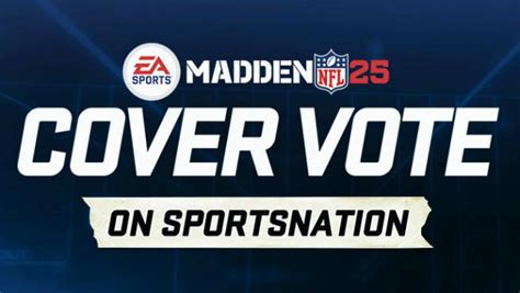 capital one fan vote espn espn s sportsnation gives fans the madden cover vote