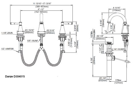 Delta Kitchen Faucet Repair Instructions bathroom faucets from the eastham collection by danze
