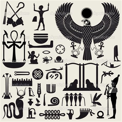 ancient symbols tattoo designs symbol stencils symbols and sign set 2