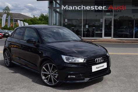 Audi A1 Schwarz by Used 2017 Audi A1 Sportback 5dr For Sale In Manchester