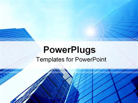 building a powerpoint template corporate buildings powerpoint template background of