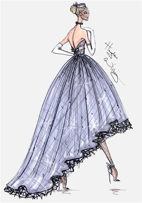 fashion illustration haute couture hayden williams fashion illustrations july 2013