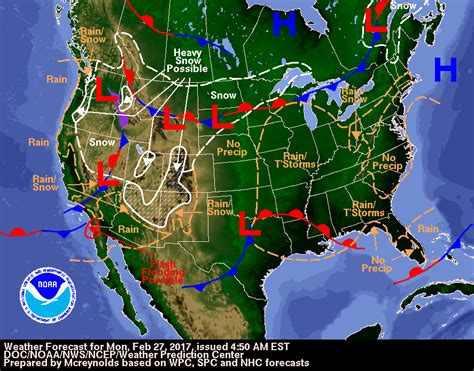 us weather map for today temperature less breezy today varied precipitation tonight tuesday