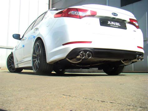 Kia Optima Performance Exhaust Jun B L Evc Exhaust System 2 0 Turbo Importshark