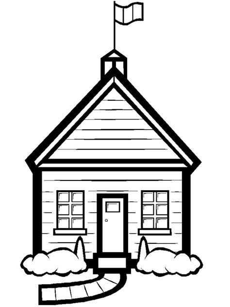 free coloring pages of school houses school coloring sheets janice s daycare
