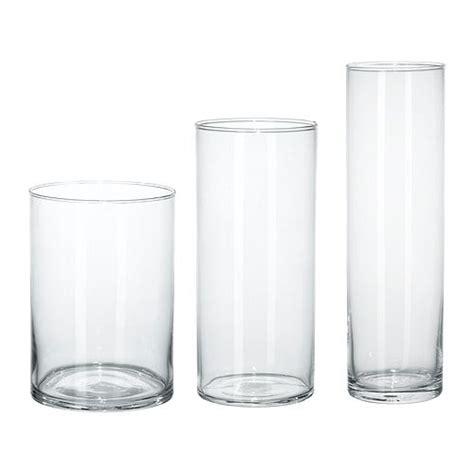 Vasen Ikea by Cylinder Vase Set Of 3 Ikea