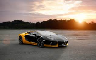 Yellow Lamborghini Images Black And Yellow Lamborghini Wallpaper 1 Free Hd Wallpaper