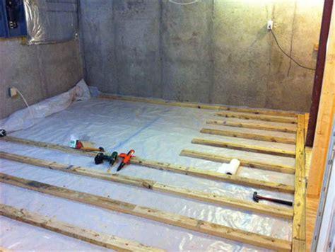 Basement Floor Insulation Basement Questions Basement Flooring Systems
