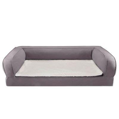 gatti divani divano ortopedico per gatti grigio zooplus