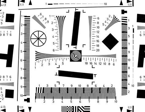 chart pattern quiz digital camera resolution test procedures