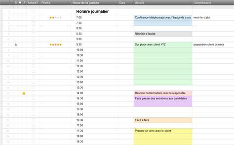 Calendrier Journalier Excel Mod 232 Les De Planification Gratuits Pour Excel