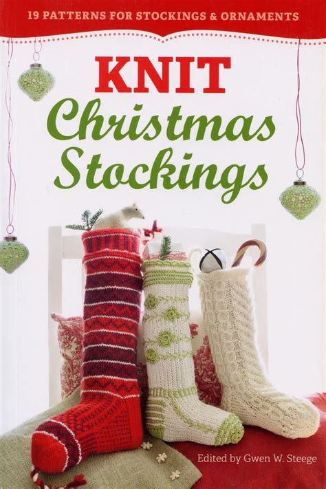 patterns for children knitting books halcyon yarn knit christmas stockings 2nd edition knitting book