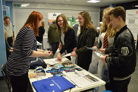 hundreds  students meet big  employers cardiff times