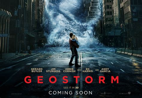 geostorm film poster geostorm has fallen movie review at why so blu