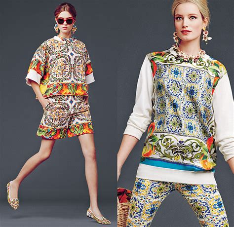 Dg Dolce And Gabbana Flash Collection Knit And Leather Shopper by Dolce Gabbana 2014 2015 Fall Winter Womens Lookbook