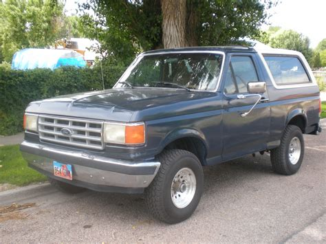 how to work on cars 1988 ford bronco ii parental controls 1988 ford bronco information and photos momentcar