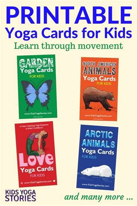 printable animal yoga cards 770 best images about yoga poses on pinterest