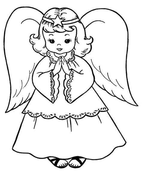 angel outline coloring page the child christmas angel coloring page christmas angel