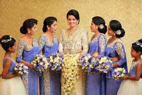 wedding colour themes sri lanka sri lankan wedding bridesmaid sri lankan wedding photo