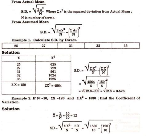 standard deviation template how to calculate standard deviation in 3 different series