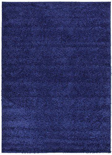 amazon com turquoise teal shaggy shaggy collection solid color shag area rugs navy blue 5