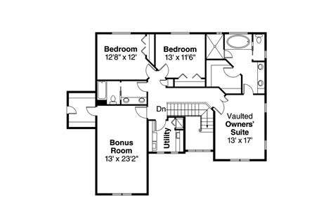 European Floor Plans by European House Plans Thomaston 30 668 Associated Designs