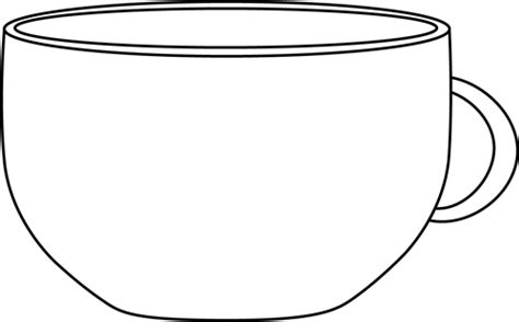 Cup Clipart Black And White black and white cup clip black and white cup image