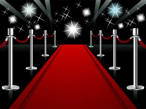 ornate red carpet backgrounds vector material 05 over