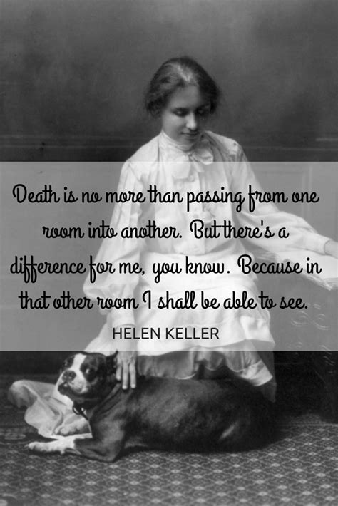 helen keller biography death hospice nurse quotes quotes of the day
