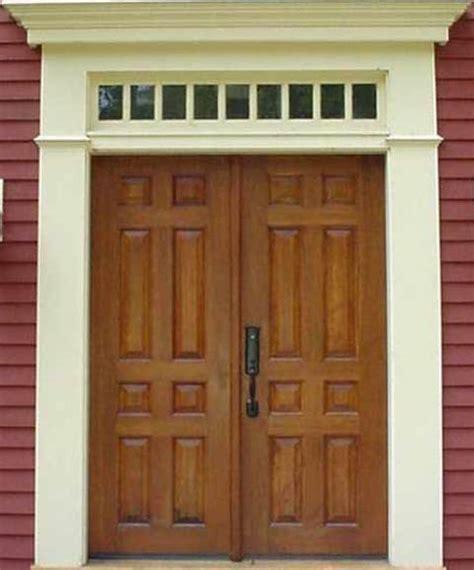 Handmade Doors - carlentini eight panel wood custom doors