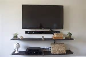 Gallery 20 images of best recommended tv wall mount with handy shelves