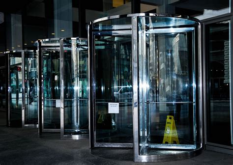 Revolving Glass Door Revolving Glass Doors Eds