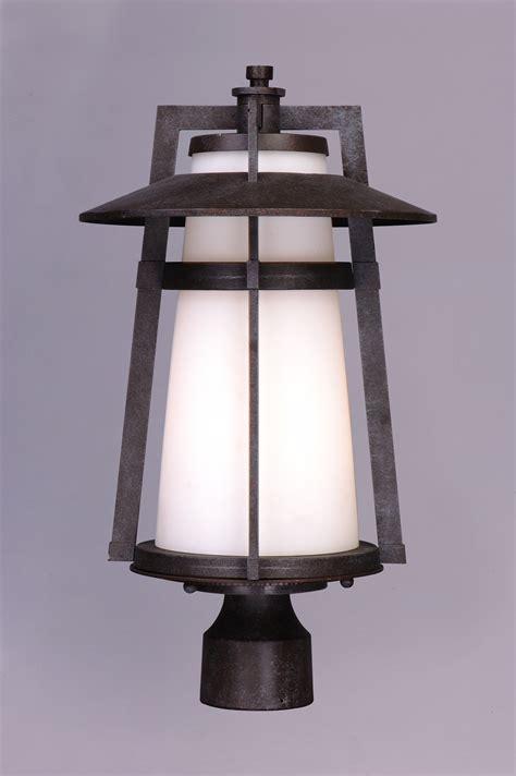 Outdoor Lighting Pole Calistoga 1 Light Outdoor Pole Post Lantern Outdoor Pole Post Mount Maxim Lighting
