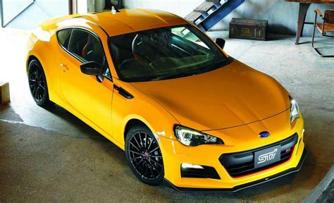 yellow subaru wrx 2015 subaru brz ts sti announced for japan limited to 300