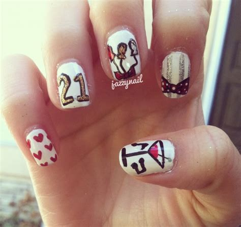 17 best images about nails birthday on birthday nail birthdays and coral cupcakes happy birthday nail designs