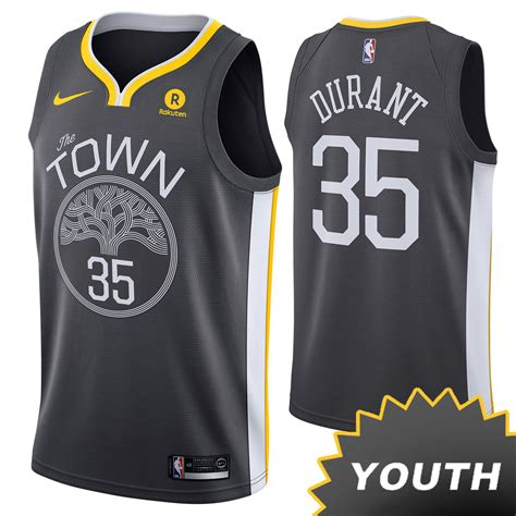 golden state warriors nike dri fit youth kevin durant 35