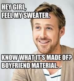 Video of ryan gosling bringing the hey girl memes to life