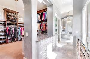Island Chandelier Dream Closets Traditional Closet Santa Barbara By