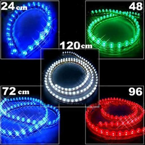 automotive led light strips 12v 12v automobile chassis lights led decorative light
