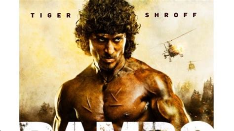rambo film web tiger shroff just shared the first look of sylvester