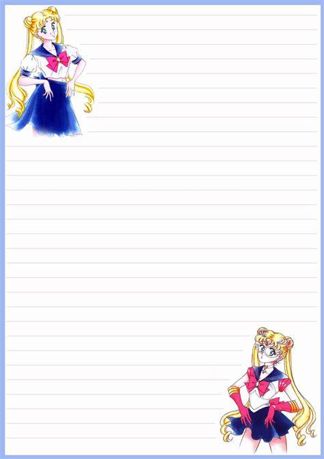 moon writing paper sadadoki s more sailor moon writing paper for free use