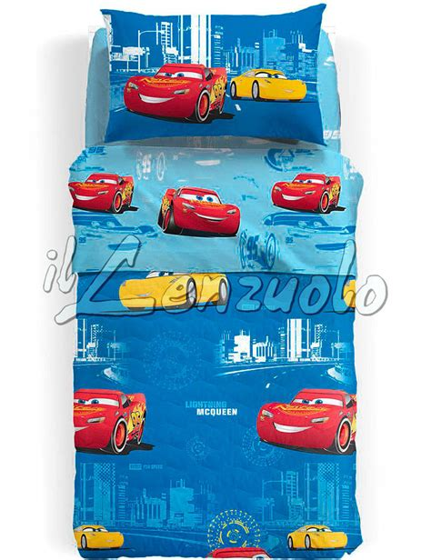 Copriletto Cars by Copriletto Singolo Disney Caleffi Cars Record Trapuntino
