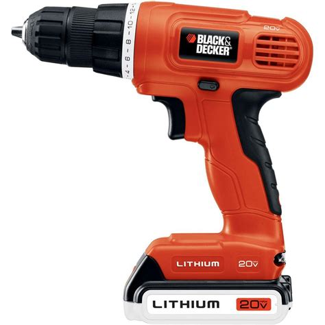 bohrmaschine black und decker black decker 20 volt max lithium ion 3 8 in cordless