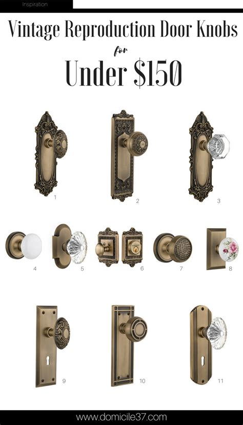 Reproduction Door Hardware by Adding A Vintage Touch With Nostalgic Warehouse Domicile 37