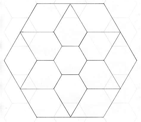 hexagon paper templates poplun