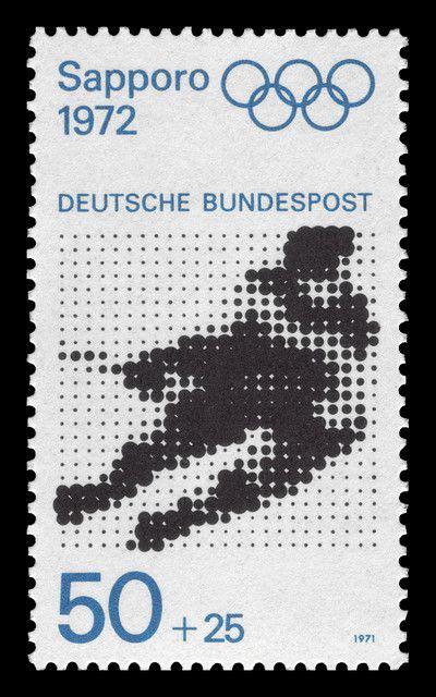 1141 Liechtenstein 1971 Winter Olympic Sapporo 1972 Japan germany st sapporo 1972 olympic sts germany