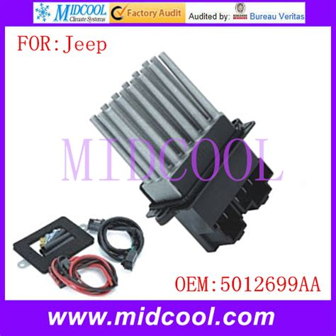 replacing blower motor resistor jeep grand new blower motor resistor use oe no 5012699aa for jeep grand in heater parts from