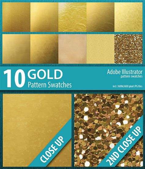 ai pattern swatches download 10 gold foil and sparkle pattern swatches adobe