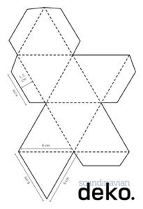 printable geometric ornaments craft geo paper christmas decorations printable