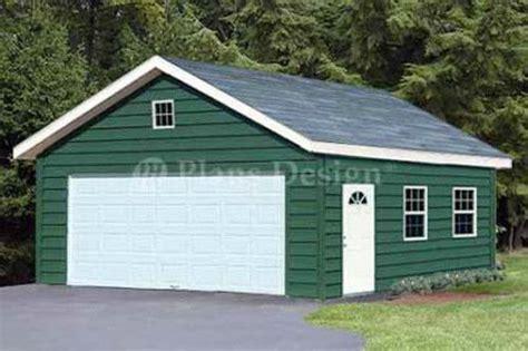 Pole Barn Apartment Plans Garage Plans 20 X 28 Gable Roof Style Workshop Building